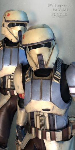 SW Troopers Bundle 05 for V4M4