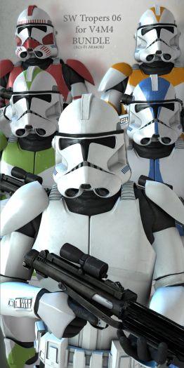 SW Troopers Bundle 06 for V4M4