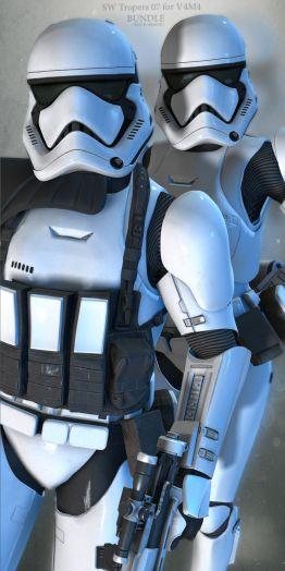 SW Troopers Bundle 07 for V4M4