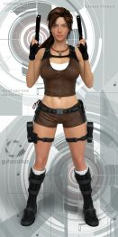 TR UnderWorld Outfit for G3F