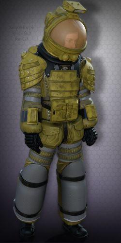 XenoMorph SpaceSuit for G3