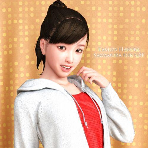 YK Haruka Sawamura for G8F