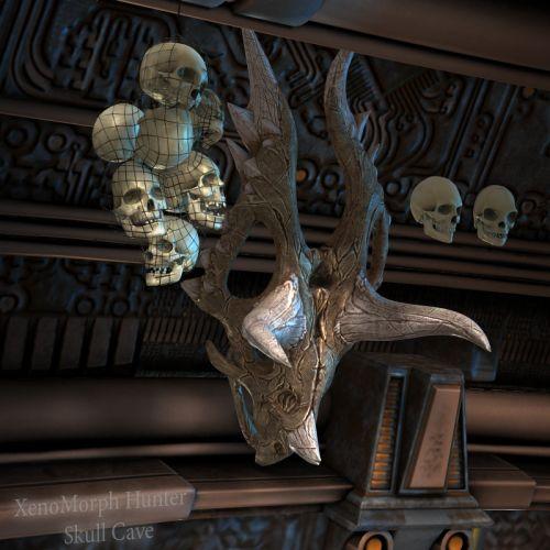 XenoMorph Hunter SkullCave
