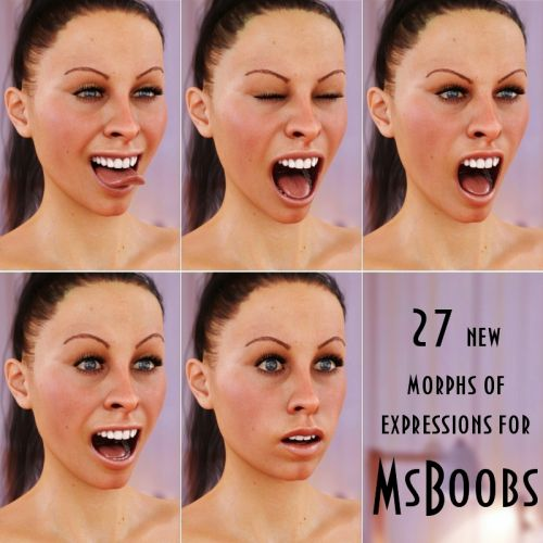 MsBoobs Emotions for G8F