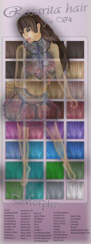 Rosarita Hair for A4V4