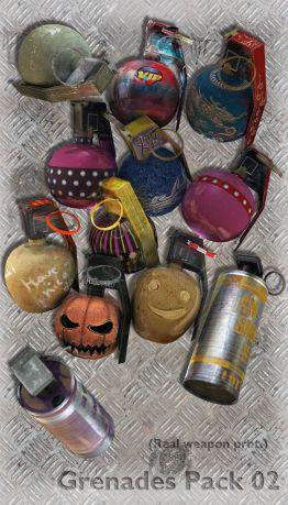 Grenades Pack 02