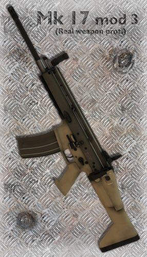 Mk16 SCAR L (MK17 Mod3)