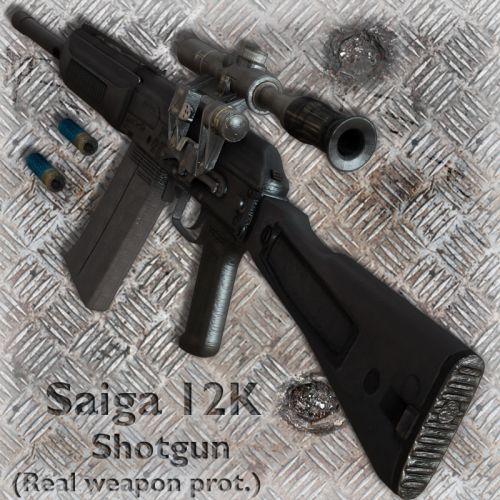 Saiga Shotgun 12K