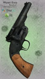 Wyatt Earp Revolver
