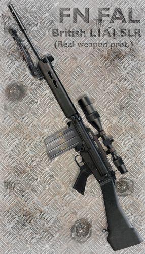FN FAL British L1A1 SLR