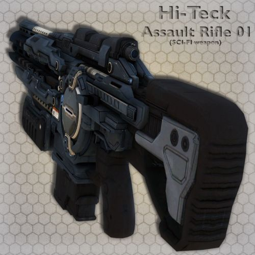 Hi-Teck AssaultRifle 01