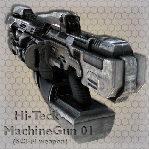 Hi-Teck MachineGun 01