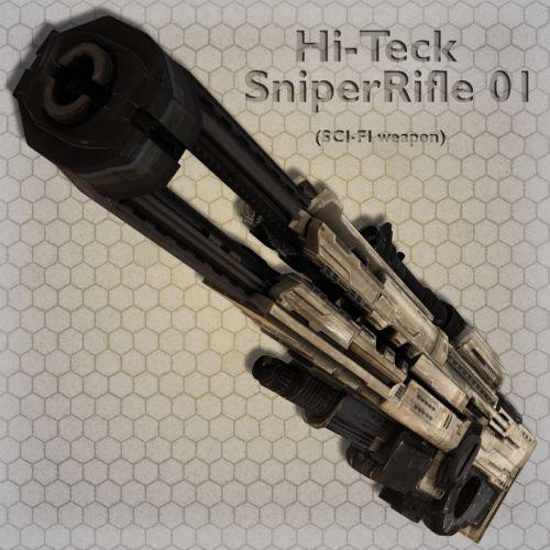 Hi-Tek Sniper Rifle 01