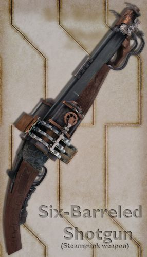 Six-barreled Shotgun