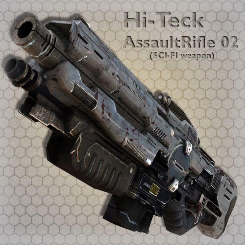 Hi-Teck AssaultRifle 02