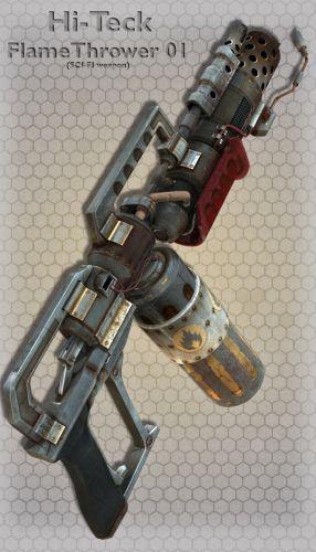 Hi-Teck FlameThrower 01