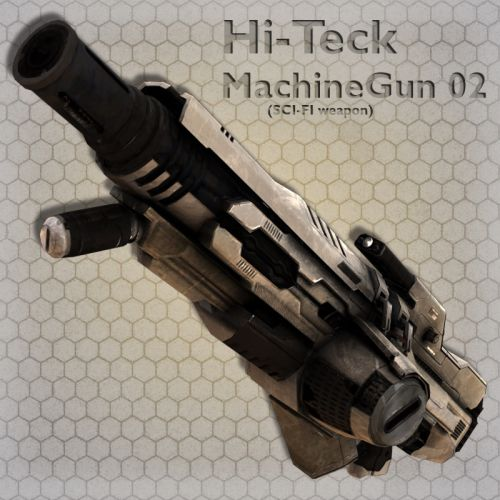 Hi-Teck MachineGun 02