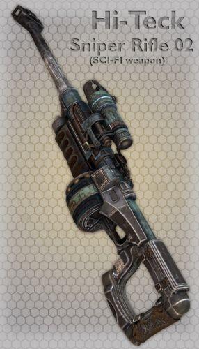 Hi-Teck Sniper Rifle 02
