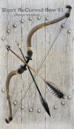 Short ReCurved Bow 01