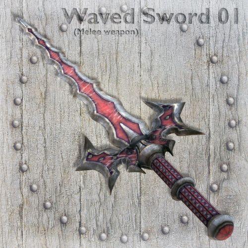 Waved Sword 01