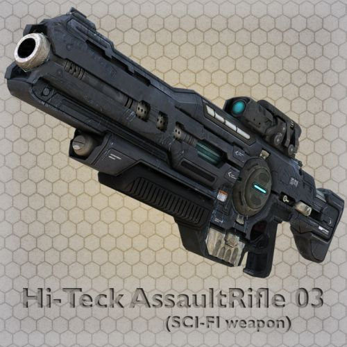 Hi-Teck AssaultRifle 03