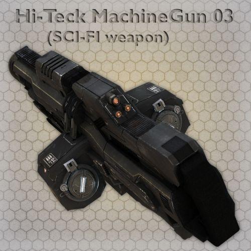 Hi-Teck MachineGun 03