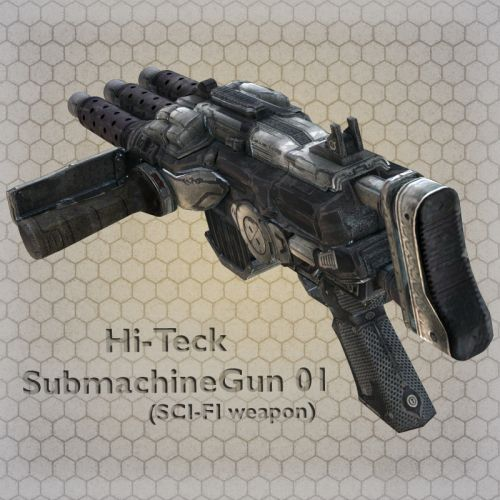 Hi-Teck SubMachine Gun 02