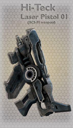 Hi-Teck Laser Pistol 01