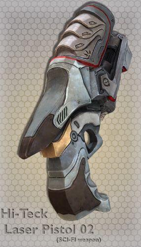 Hi-Teck Laser Pistol 02