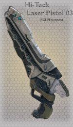 Hi-Teck Laser Pistol 03