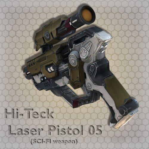 Hi-Teck Laser Pistol 05