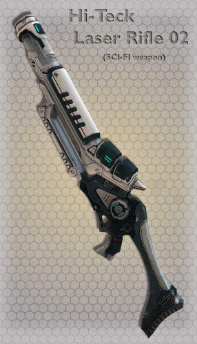 Hi-Teck Laser Rifle 02