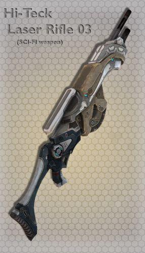 Hi-Teck Laser Rifle 03