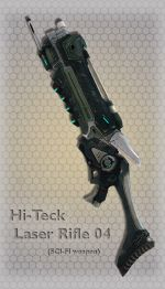 Hi-Teck Laser Rifle 04