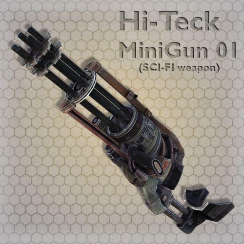 Hi-Teck MiniGun 01