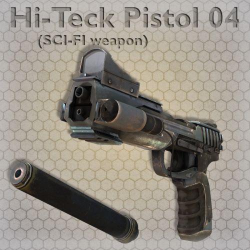 Hi-Teck Pistol 04