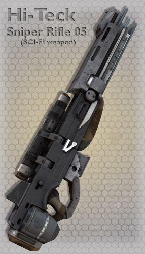 Hi-Teck Sniper Rifle 05