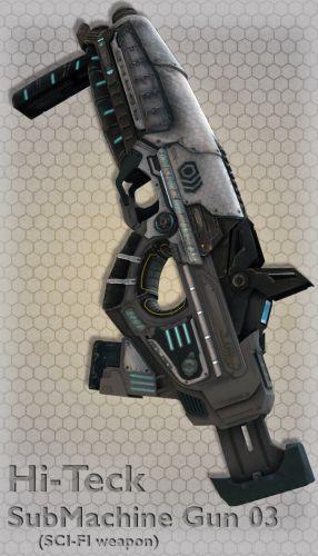 Hi-Teck SubMachine Gun 03