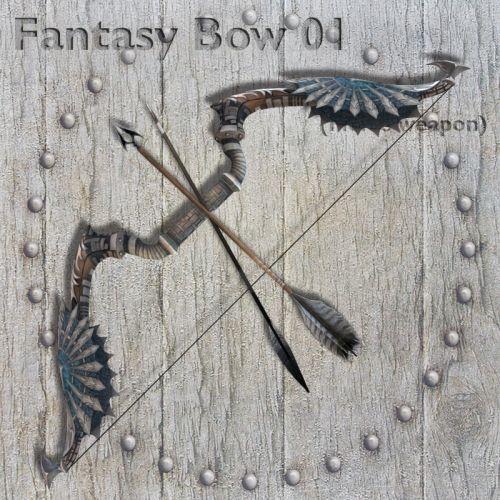 Fantasy Bow 01