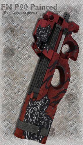FN P90 Painted