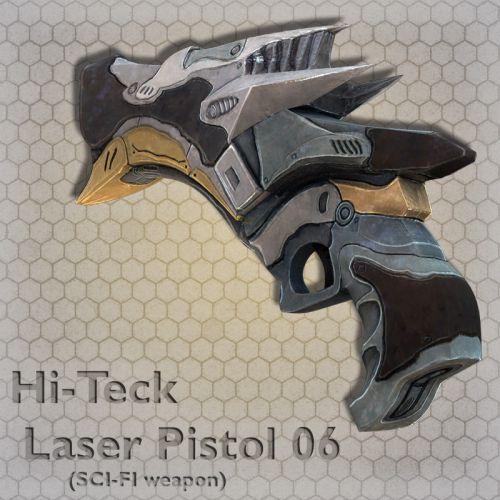 Hi-Teck Laser Pistol 06