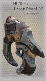 Hi-Teck Laser Pistol 07