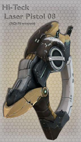Hi-Teck Laser Pistol 08