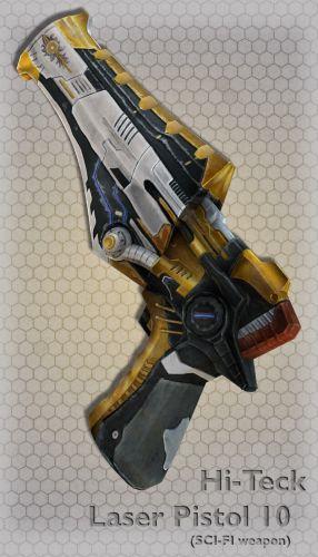 Hi-Teck Laser Pistol 10