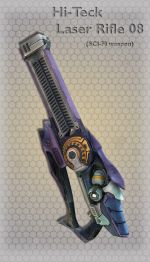 Hi-Teck Laser Rifle 08