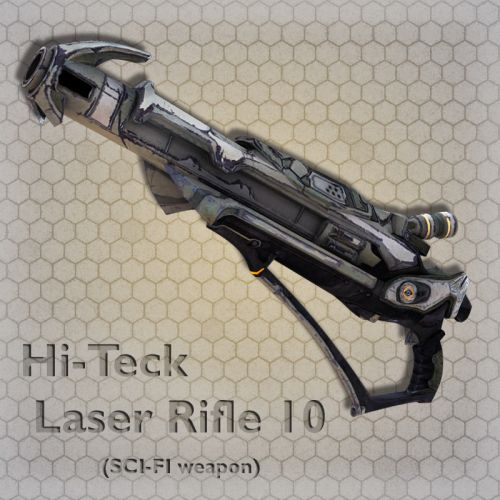 Hi-Teck Laser Rifle 10