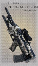 Hi-Teck SubMachine Gun 04