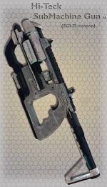 Hi-Teck SubMachine Gun 05