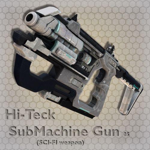 Hi-Teck SubMachine Gun 05
