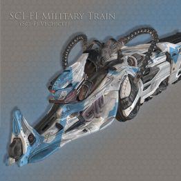 SCI-FI Military Train